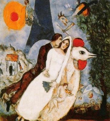 Les-Fianc-s-de-la-Tour-Eiffel-Marc-Chagall-83720